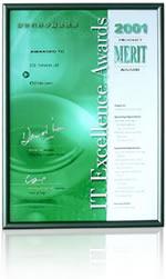 2001年資訊科技卓越成就獎優異獎